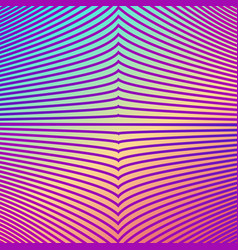 bright gradient color abstract line pattern vector image