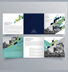 Brochure design 601 vector