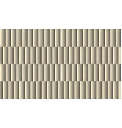 Brushed metal aluminum blocks grey and white vector