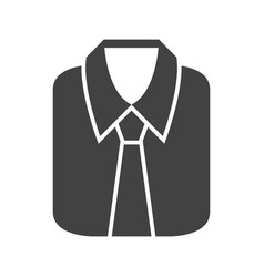 Formal shirt vector