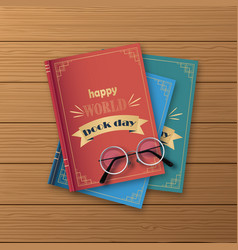 stack books books standing vertical isolated vector image