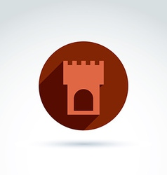 Tower historical monument symbol ancien vector