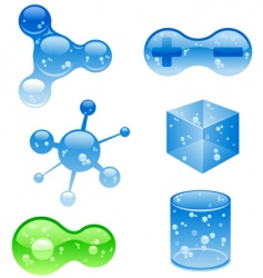 Jelly objects vector