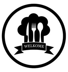 restaurant chief icon vector image