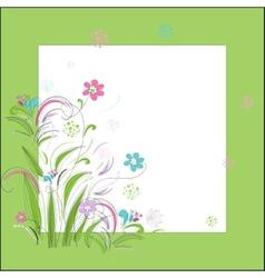Romantic scrapbooking for invitation greeting vector image