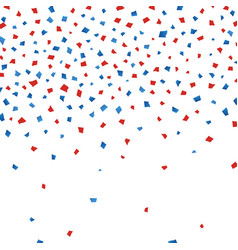 background with paper confetti in traditional vector image