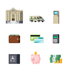 Banking orthogonal elements set vector
