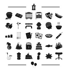 Circus magic plumbing and other web icon vector