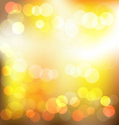 Gloden elegant abstract background with bokeh vector