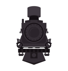 steam locomotive vehicle vector image