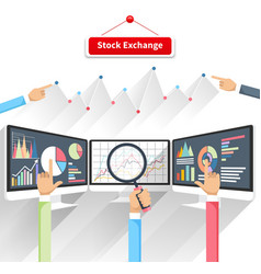Stock Exchange vector