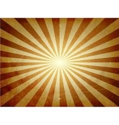 Distressed light burst background vector image