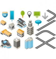 map toolkit vector image vector image