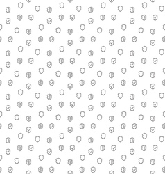 Security guard seamless pattern vector image vector image