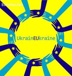 EuroMaidanH vector image