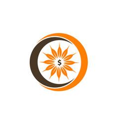 Harvest logo design template vector
