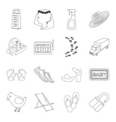 Sport fashion service and other web icon in vector