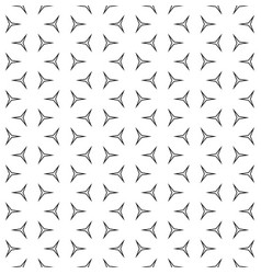 Thin linear figures monochrome seamless pattern vector