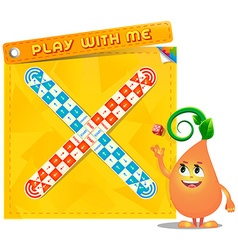 Board game Play with me vector image vector image