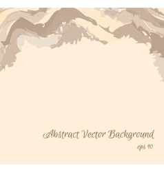 Abstract background in beige shades eps10 vector image vector image