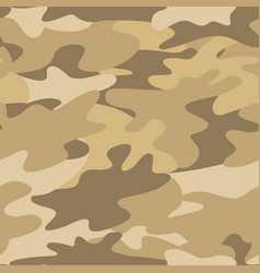 seamless camouflage pattern military background vector image vector image