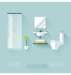 Bathroom cover vector