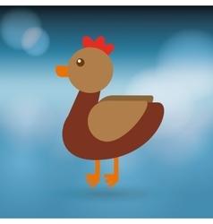 animal farm design vector image