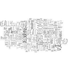Bedrooms ideas text word cloud concept vector