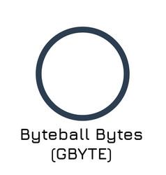 Byteball bytes gbyte crypt vector