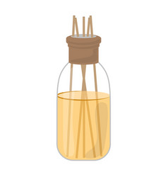 Isolated air fresheners bottle vector