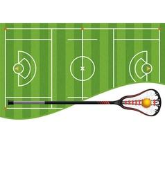 Lacrosse Copyspace vector image
