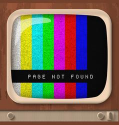 Page not found retro concept vector