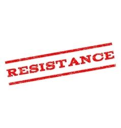 Resistance Watermark Stamp vector