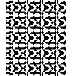 seamless monochrome geometric patterns vector image