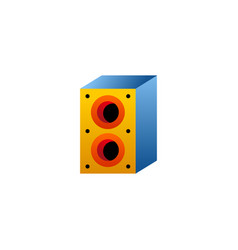 speaker icon logo vector image