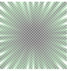 Tunnel of light green color vector