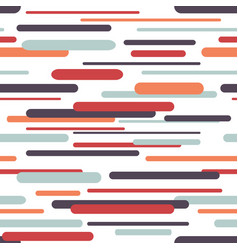 Seamless pattern with geometric dynamic background vector