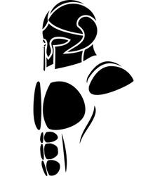 ghost warrior vector image vector image