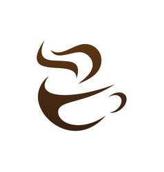 coffee shop icon vector image