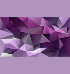Abstract irregular polygonal background - vector