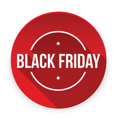 black friday sign stamp vector image