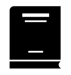 economy book icon simple style vector image