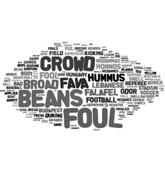 Foul word cloud concept vector
