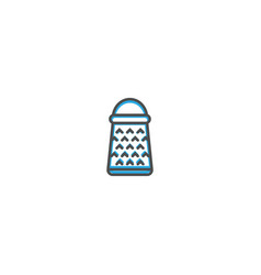 grater icon design gastronomy icon vector image