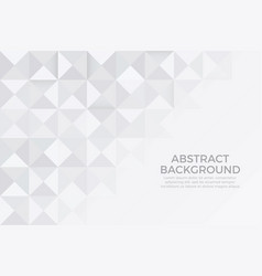 gray color and white color background abstract art vector image