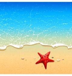 Sea Background 5 vector image