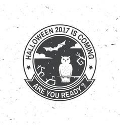 Halloween is coming concept vector