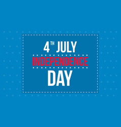 Happy independence day design background vector