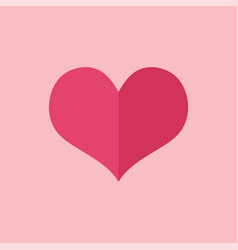heart icon perfect love symbol valentines day vector image
