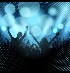 party audience vector image